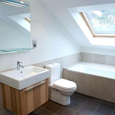 Converted Loft - Bathroom